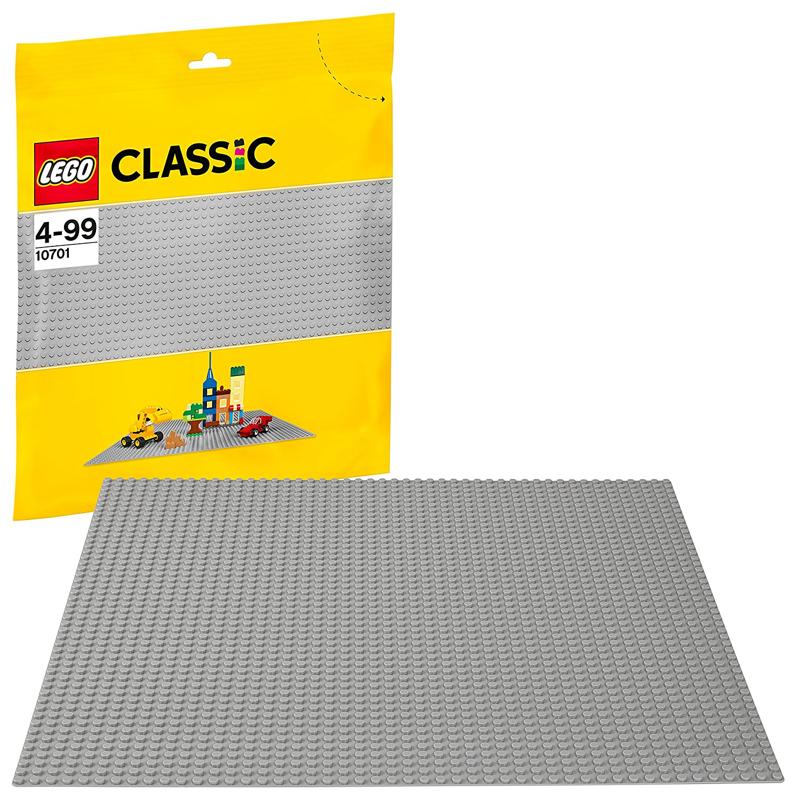 10701 LEGO Siva osnovna plošča