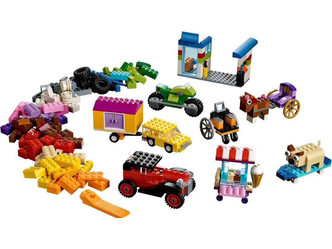 10715 LEGO Kocke na kolesih