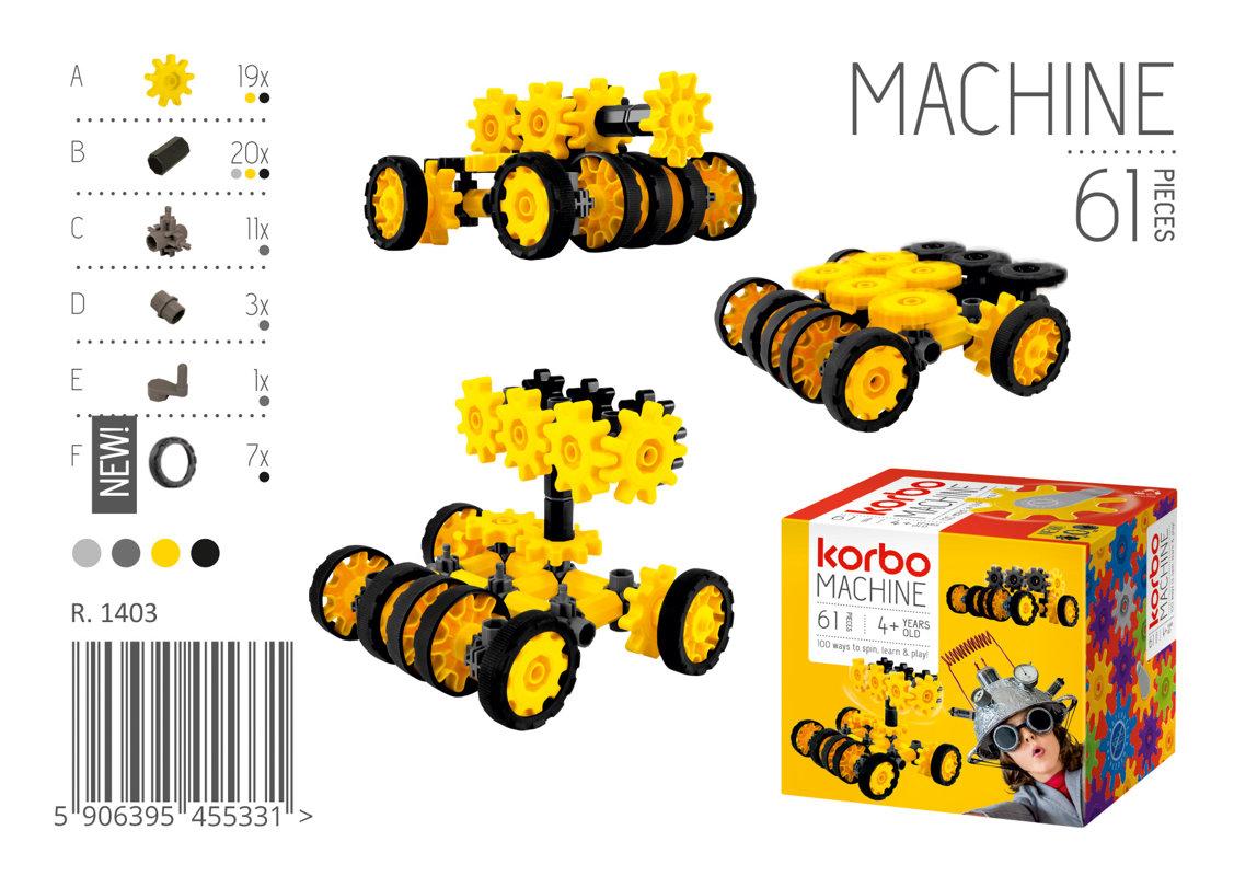 KORBO MACHINE VOZILO 61