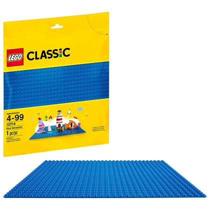 10714 LEGO Modra osnovna plošča