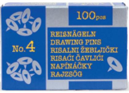 ŽEBLJIČKI RISALNI  NAVADNI ŠT.4  1/100 358