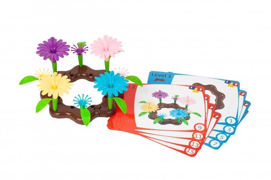KREIRAJ SVOJ CVETLIČNI VRT - konstruktor cvetov (set 86 kosov) 40313