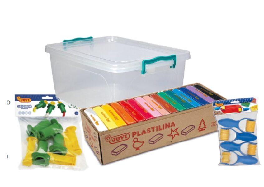 PLASTELIN JOVI 15 različnih barv po 350 g