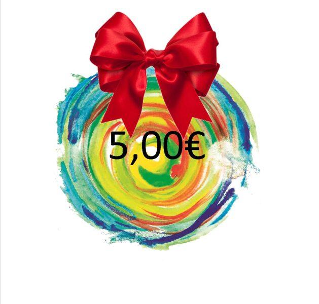 DARILNI BON - 5 €