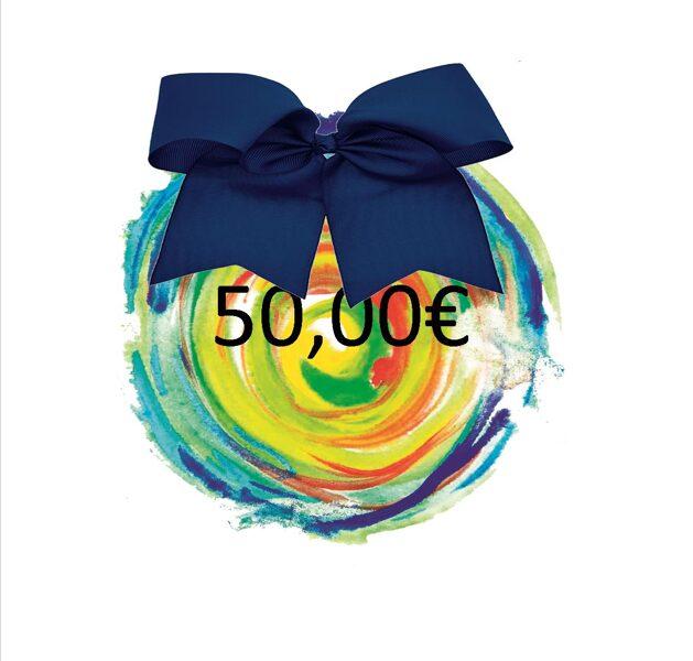 DARILNI BON - 50 €