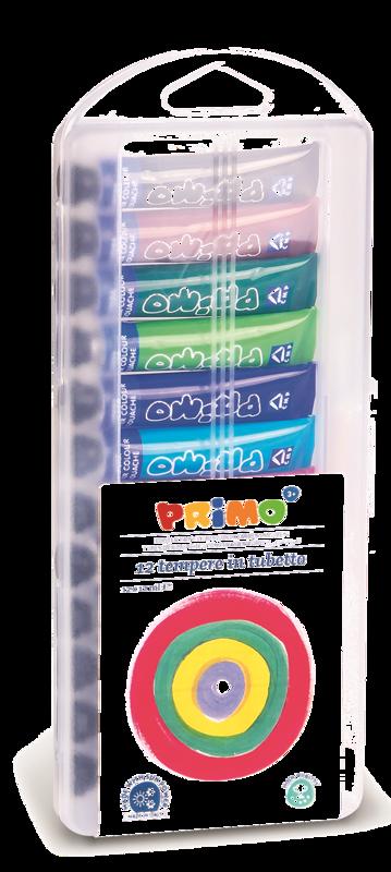 TEMPERE 12 x 12 ml v pvc škatli PRIMO 8099