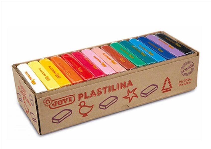 PLASTELIN JOVI 15 barv x 350 g (5250 g)