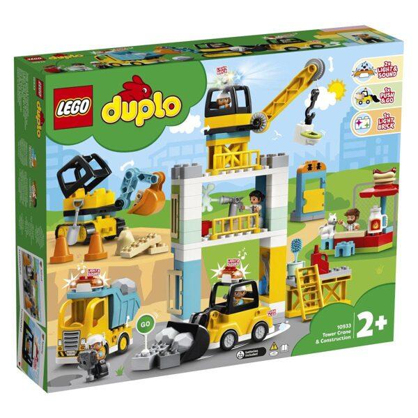 Lego Duplo 10933 Žerjav in gradnja