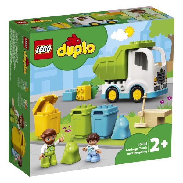 Lego Duplo 10945 Smetarsko vozilo in recikliranje