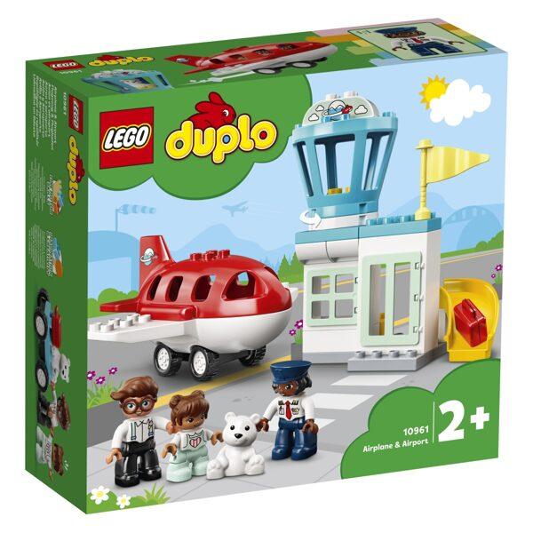 Lego Duplo 10961 Letalo in letališče