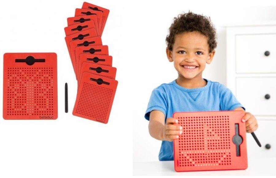 MAG PAD MINI Plošča z magnetnim pisalom (set 12 kosov)
