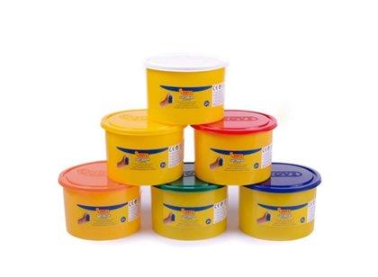 PLASTELIN BLADDIVER JOVI (set 6 barv po 450 g) 2+