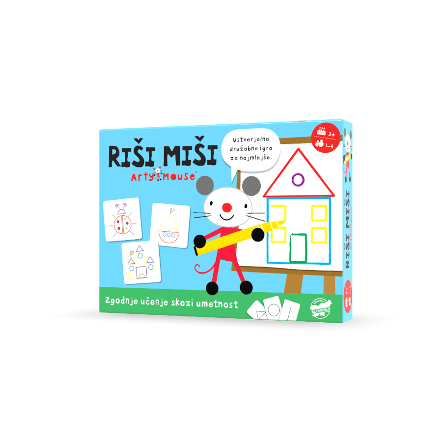 RIŠI MIŠI - Ustvarjalna družabna igra