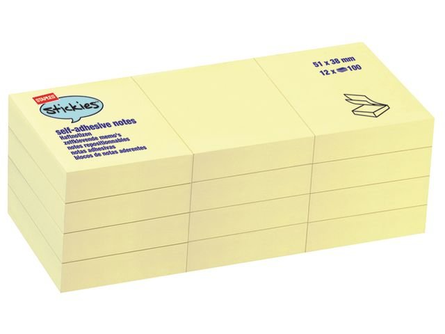 BLOK KOCKA SAMOLEPILNA 50X38/100 RUMENA PASTEL 8269